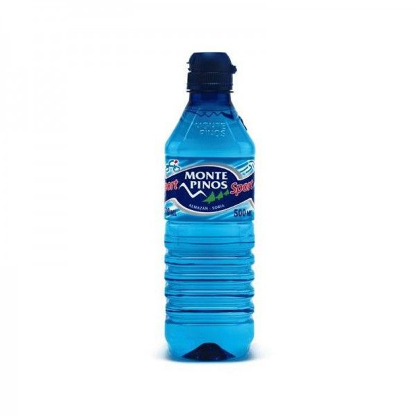 AGUA MINERAL MONTEPINOS 1/2 LITRO PET TAPON SPORT