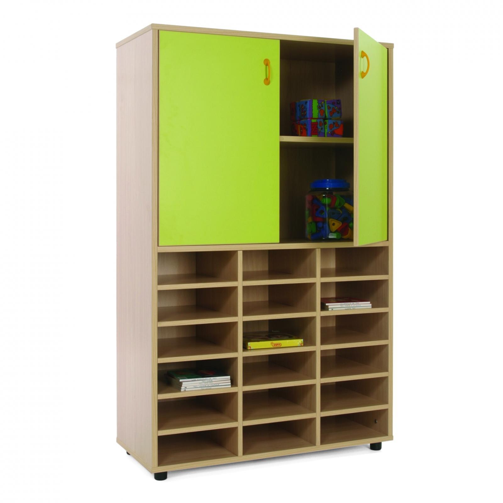 Mueble Medio Casillero y Armario