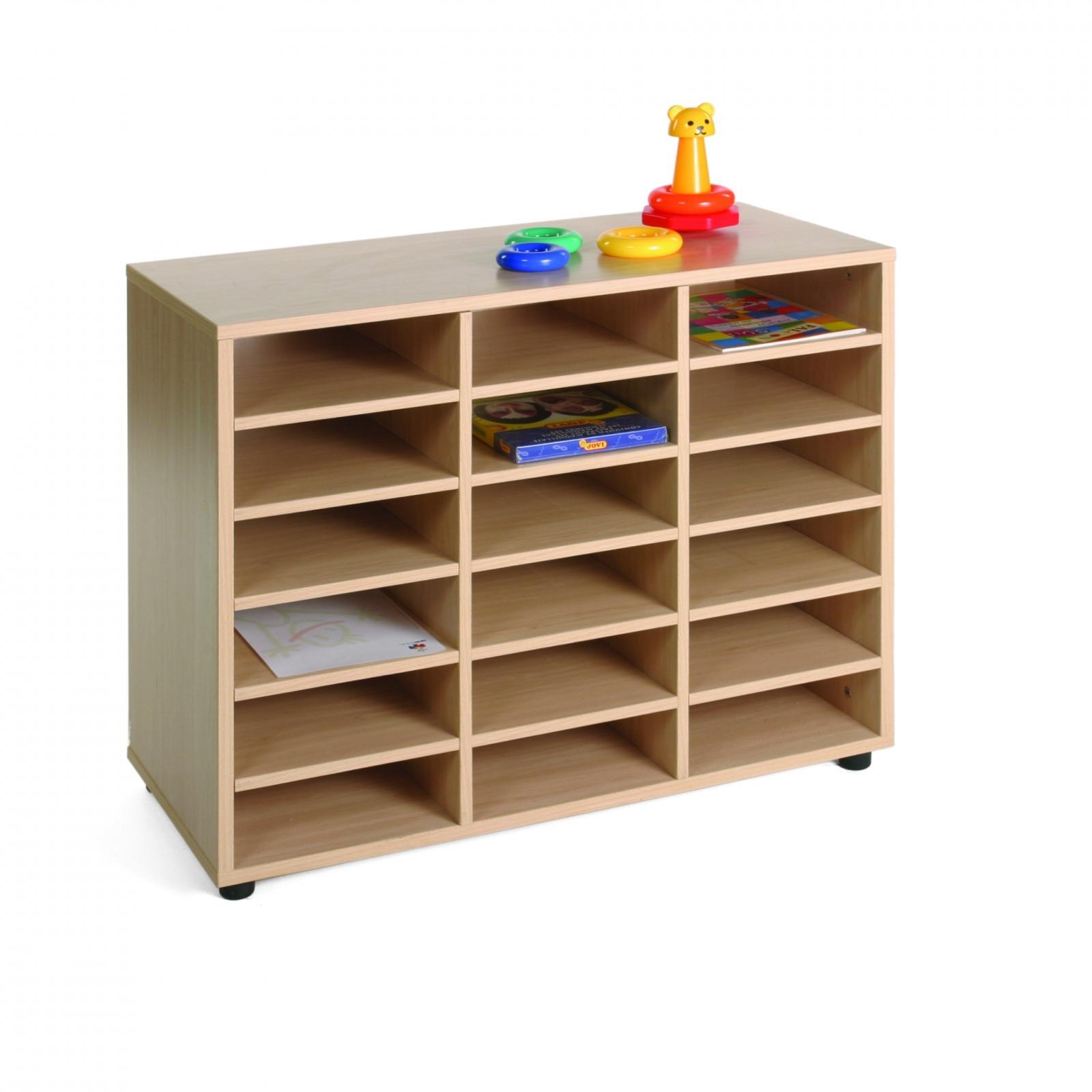 Mueble Bajo 18 Casillas