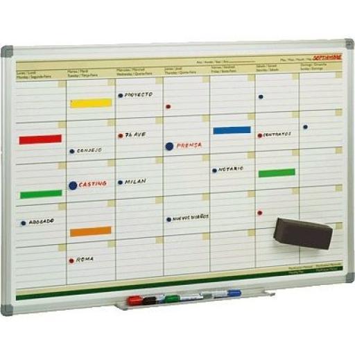 Pizarra Planificación Mensual
