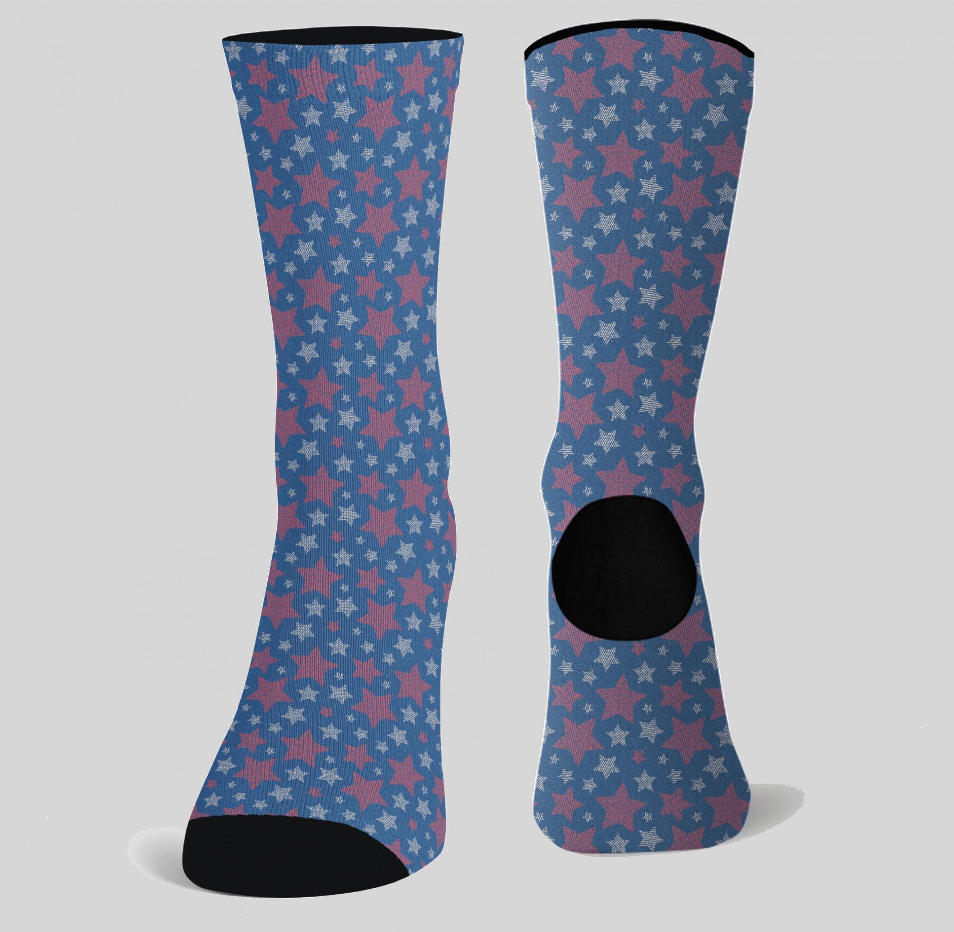 Calcetines Estrellas (1 par)