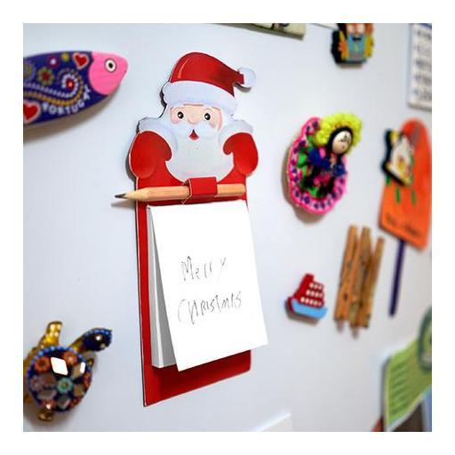 Imán navideño Papa Noel