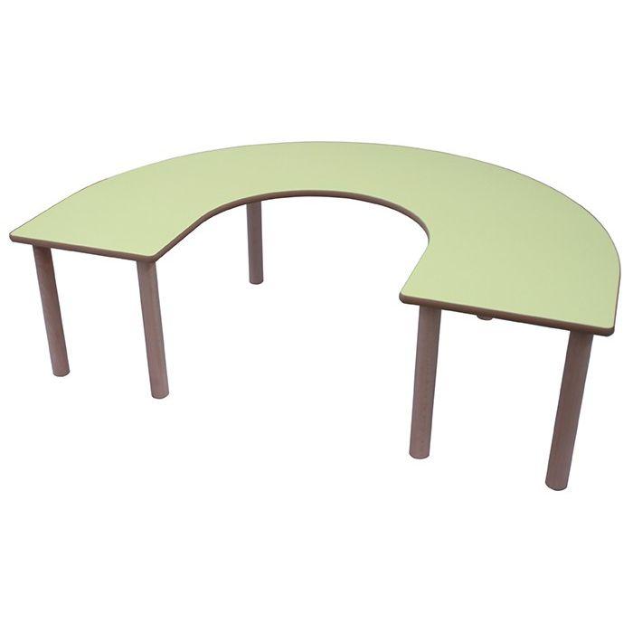 Mesa en U 150x100