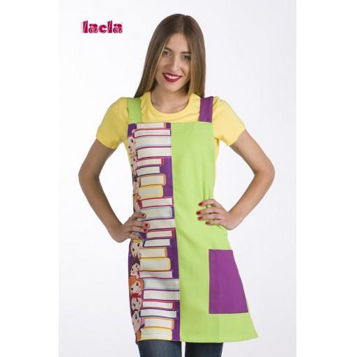 Estola Maestra Libros (Pistacho)