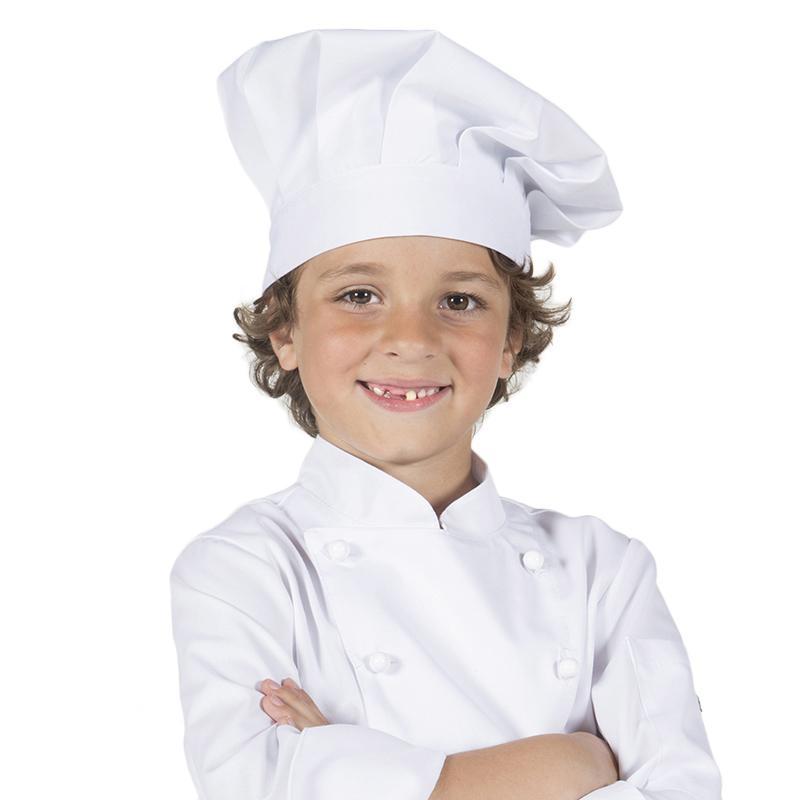 Gorro Chef Niño Blanco