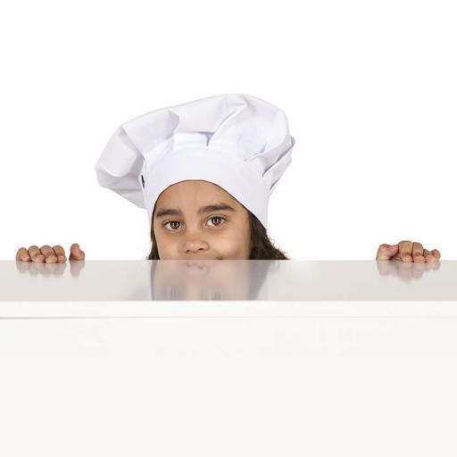 Gorro Chef Niño Blanco [1]