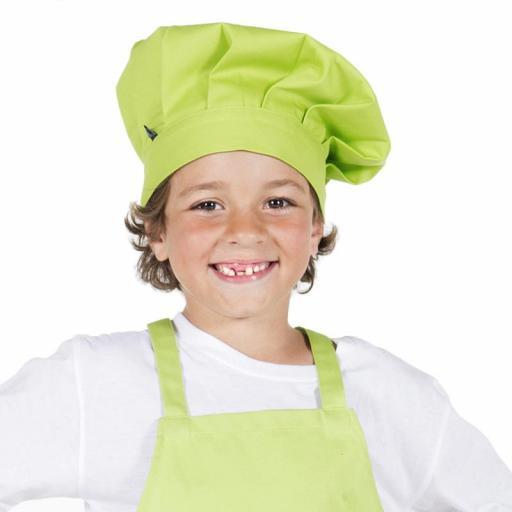 Gorro Chef Niño Color