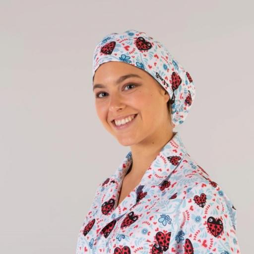 Gorro Cirujano Tiras Kukuxumusu Mujer