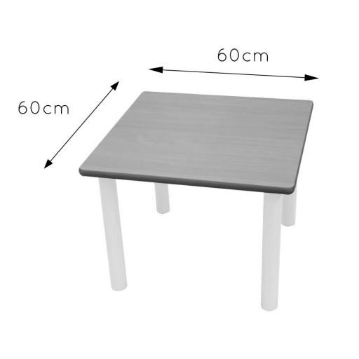 Mesa cuadrada 60x60  [2]