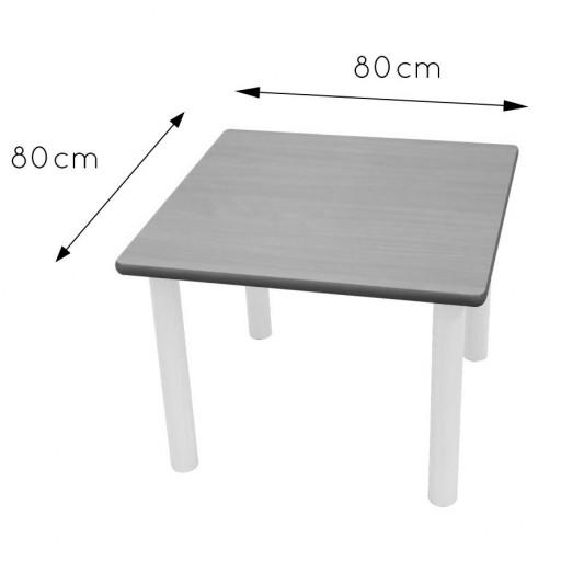 Mesa cuadrada 80x80 [2]