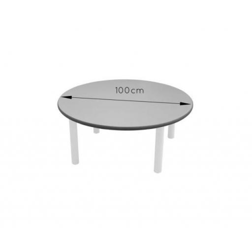 Mesa de adulto redonda 100 cm [1]