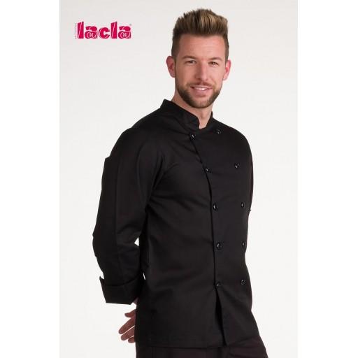 "Chaqueta chef ""dry back"" negra m/l [2]"