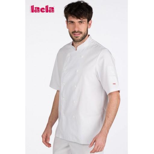 """Chaqueta chef """"dry back"""" blanca [1]"""
