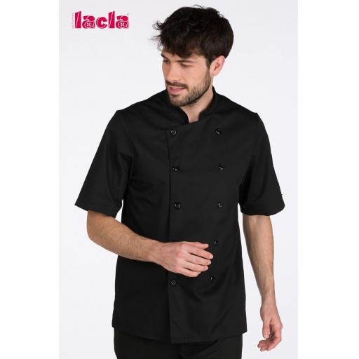 "Chaqueta chef ""dry back"" negra [1]"