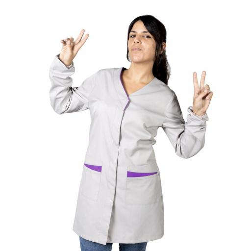 Bata Mujer Plana Antibacteriana [1]