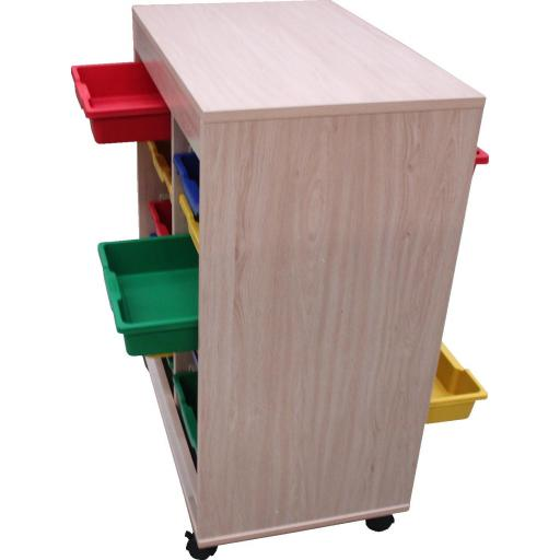 Cubetero doble acceso, 1 columna [1]