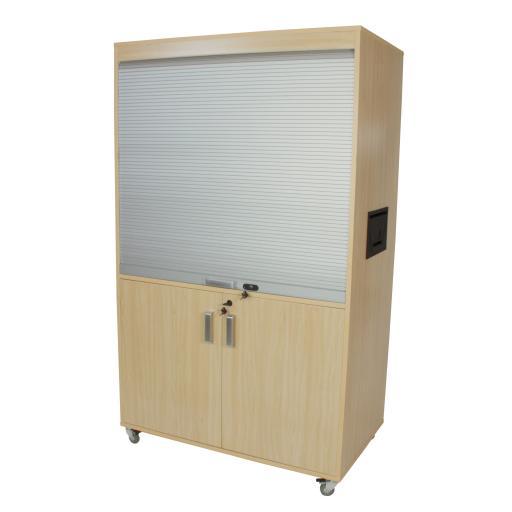 Mueble Televisión y Video Alto [1]