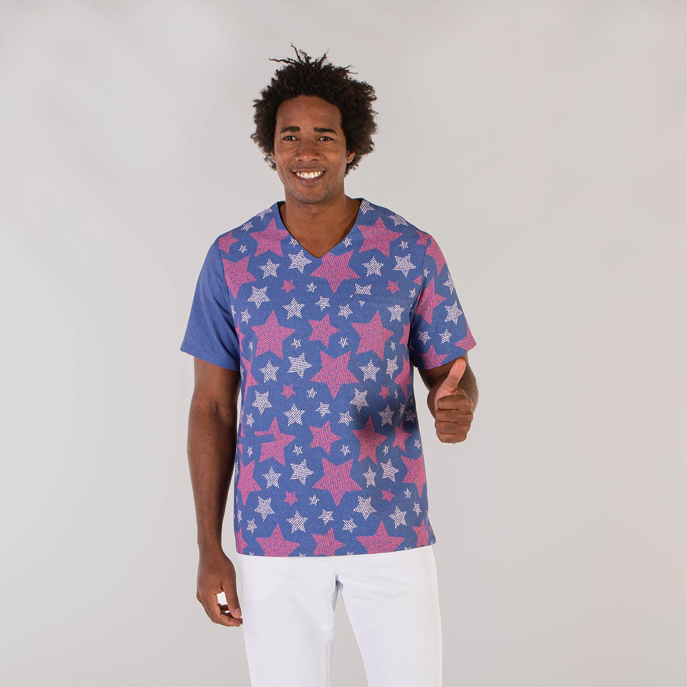 Blusa Estampada Unisex Estrellas