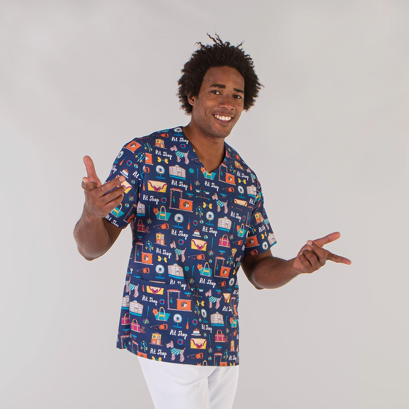 Blusa Estampada Unisex Petshop