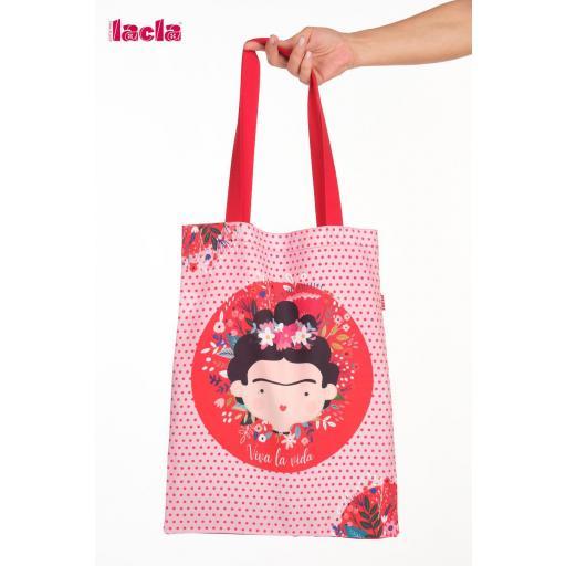 Bolso Maestra Frida Kahlo rojo [0]