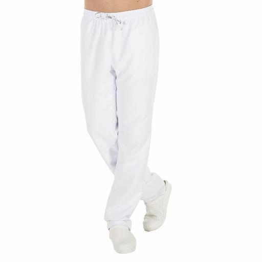 Pantalón goma y cordón microfibra