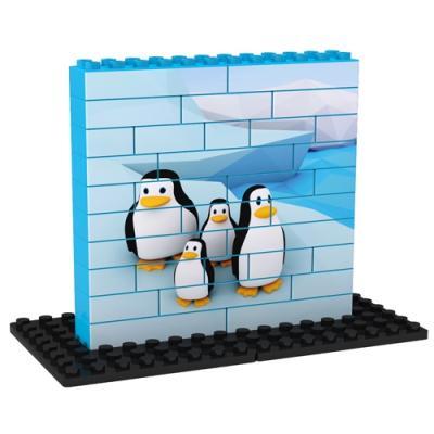 Puzzle UP Pingüinos 34 piezas