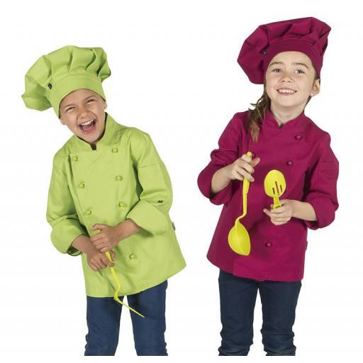 Chaqueta Cocina Infantil Color [1]