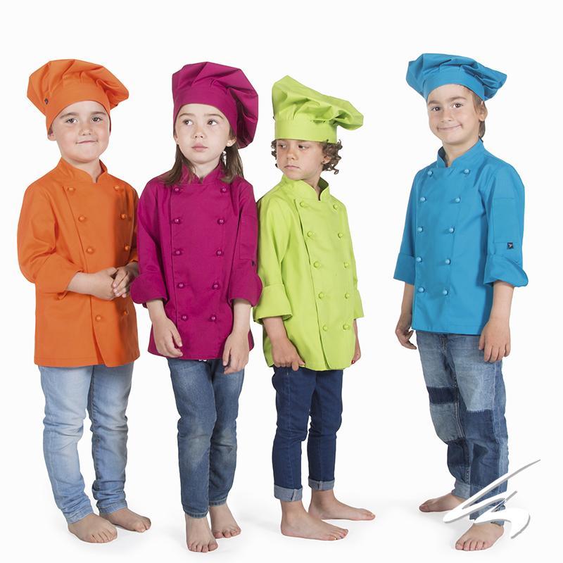 Chaqueta Cocina Infantil Color