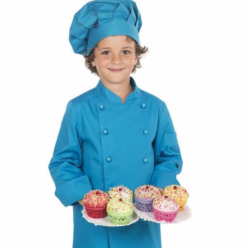 Chaqueta Cocina Infantil Color [3]