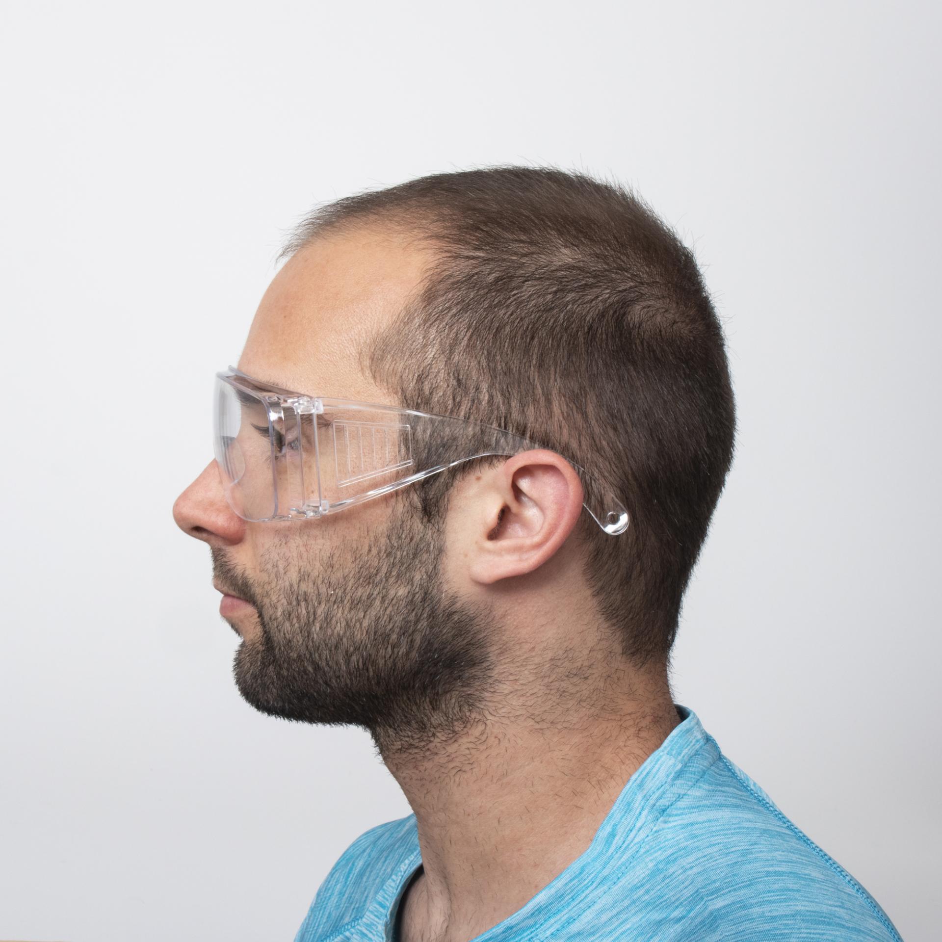 Gafas de seguridad transparentes antivaho