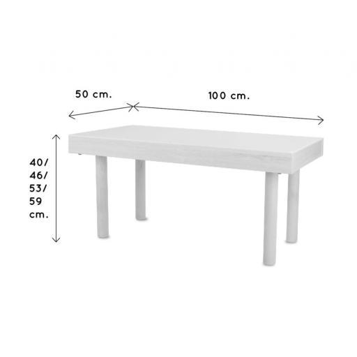 Mesa de luz 100 x 50 cm [3]