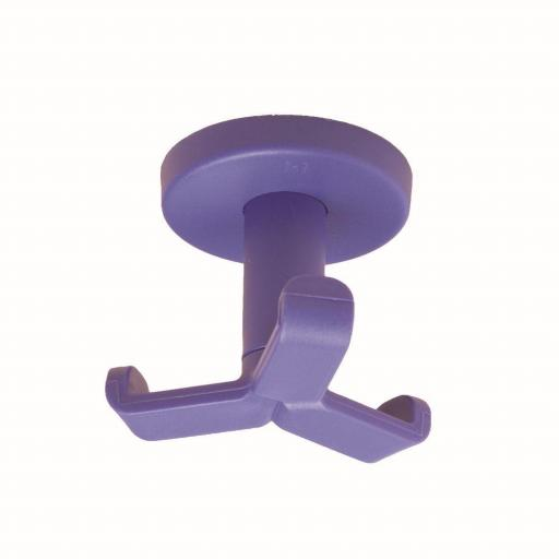 Percha triple colgador