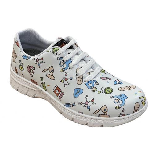 Zapato Altea Estampado Sanidad