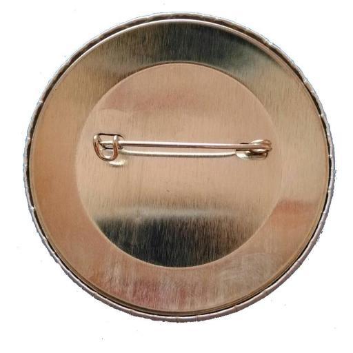 Chapa personalizada redonda alfiler [1]