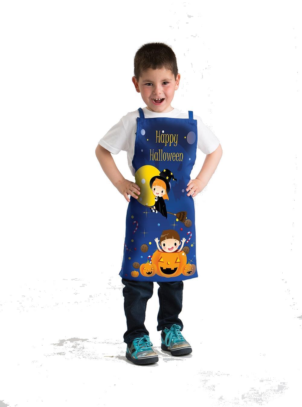 Delantal Infantil Happy Halloween