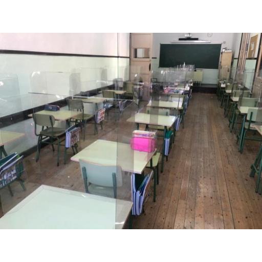 Mampara Aula Colegios