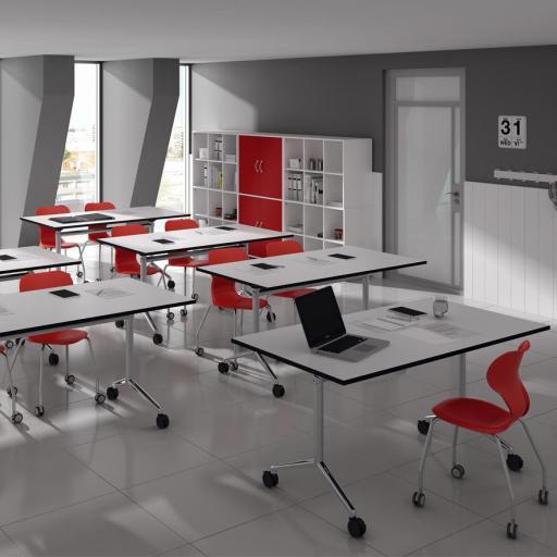 Mesa Escolar Alufloop [2]