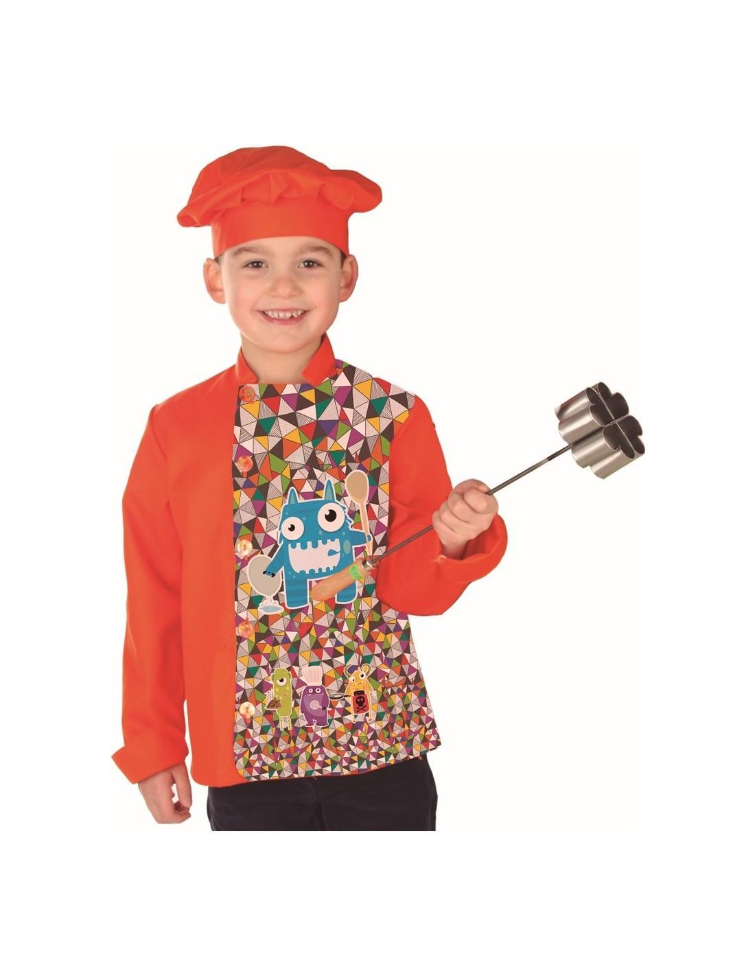 Chaqueta cocina infantil Monster