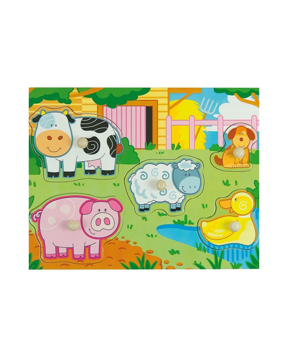 Puzzle Multicolor Farm