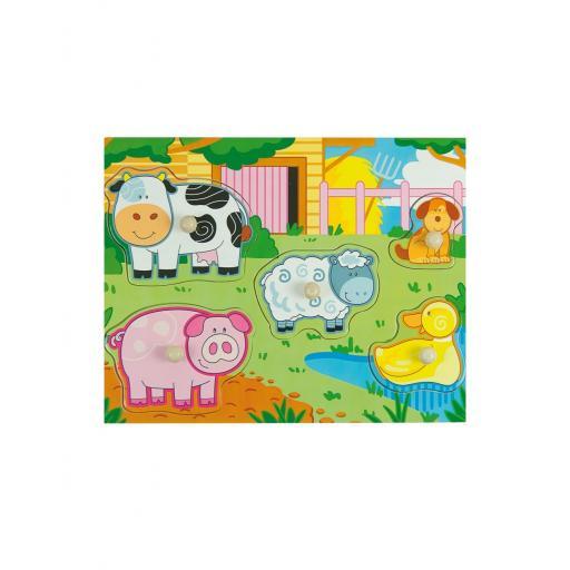 Puzzle Multicolor Farm [0]