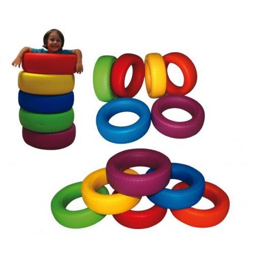 Neumático Didáctico- 5 piezas. [0]