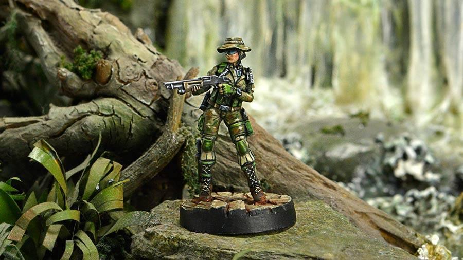Foxtrot Rangers Boarding Shotgun