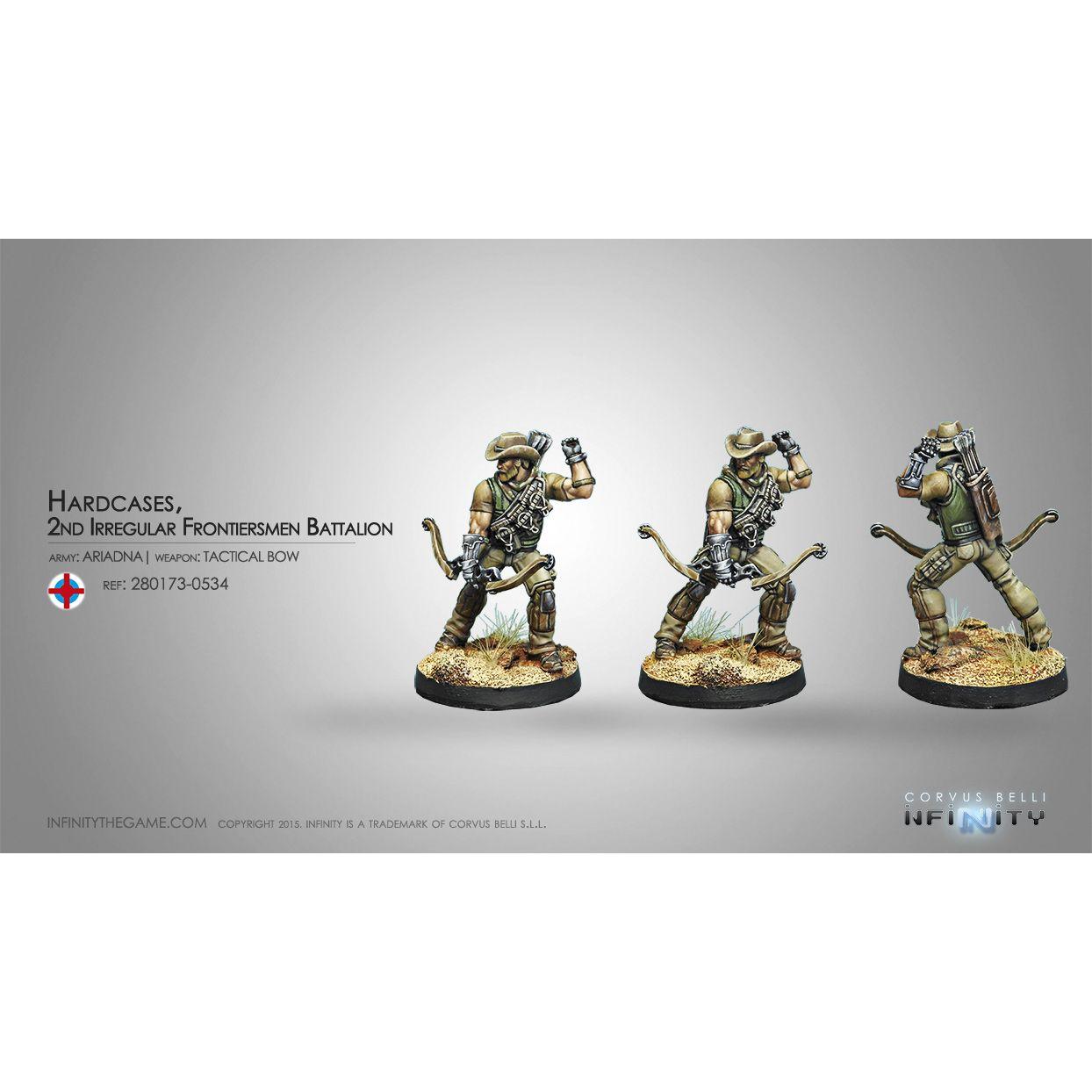 Hardcases, 2nd Irregular Frontiersmen Battalion (Tactical Bow)