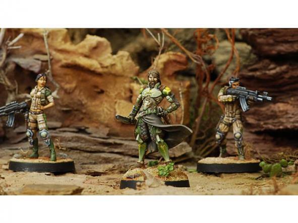 Saladin, Liaison Officer (Combi Rifle) [1]