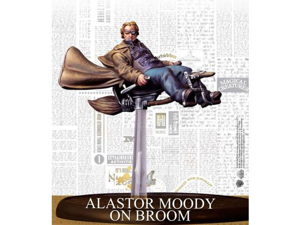 Alastor Moody On Broom