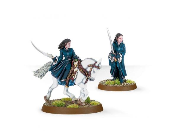 Arwen Foot and Mounted