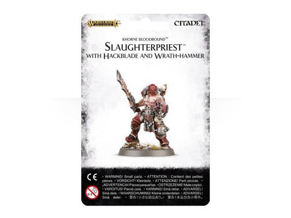 Slaughterpriest con Hackblade y Wrath-hammer