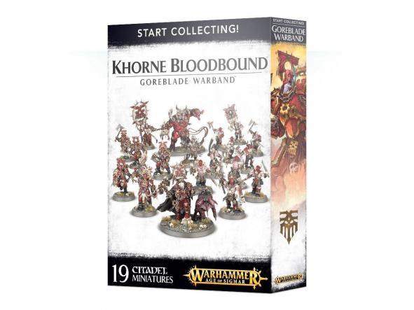 Start Collecting Khorne Bloodbound Goreblade Warband