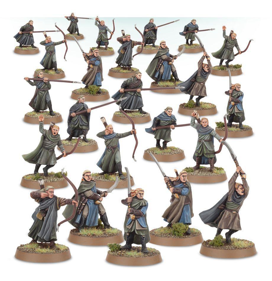 Wood Elf Warriors