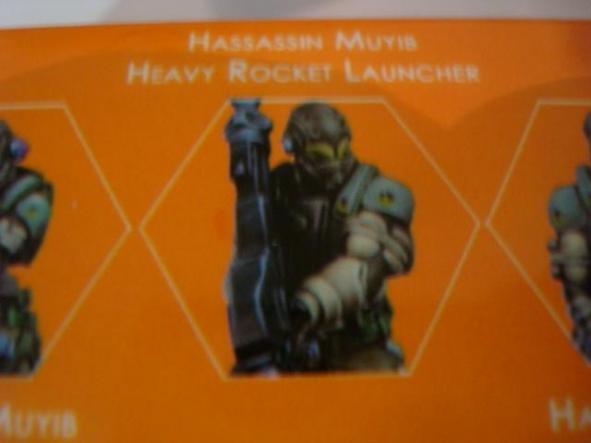 Haqqislam Hassassin Muyib Heavy Rocket Launcher